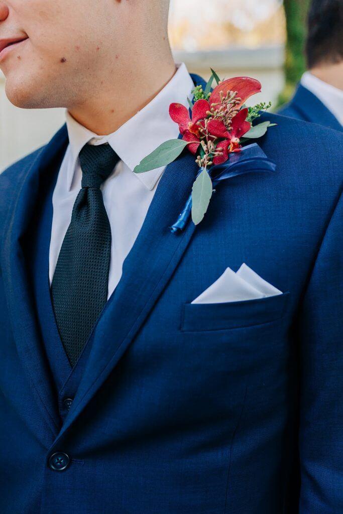Groom at a Texas Wedding