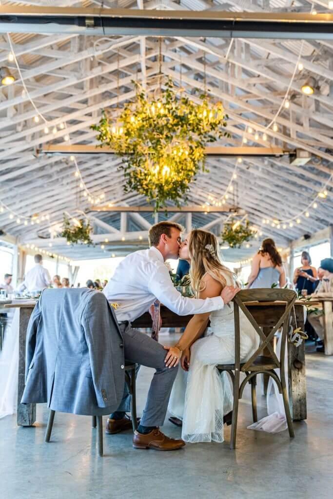 Rustic barn wedding in the heart of Gruene Texas