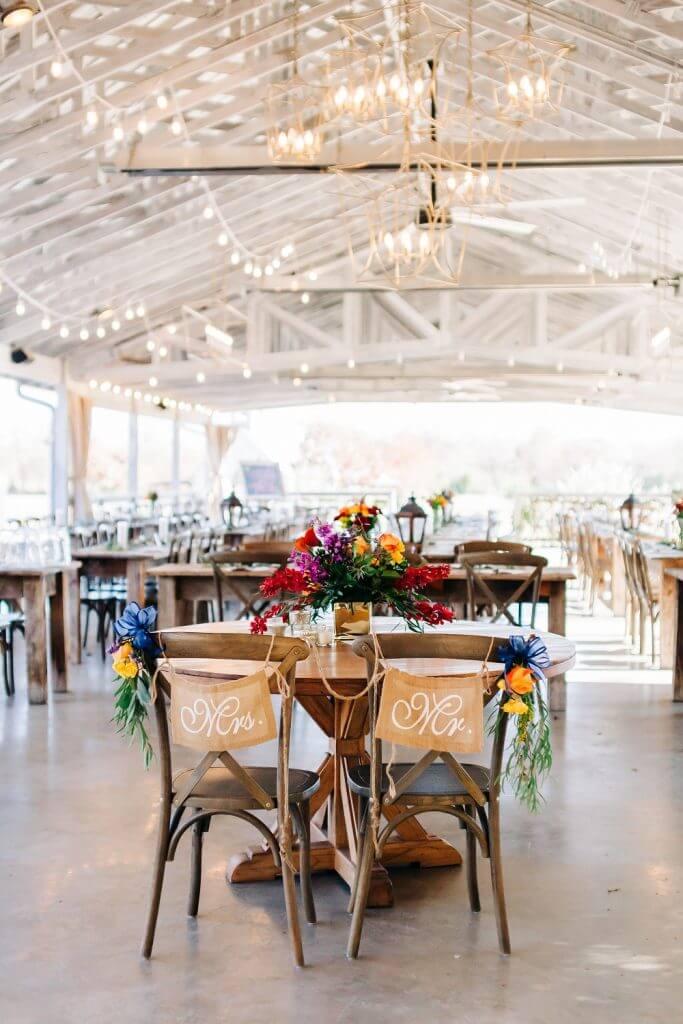 Wedding décor Texas
