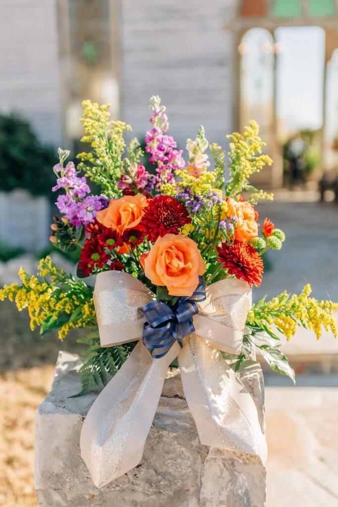 Texas Wedding Floral Arrangement