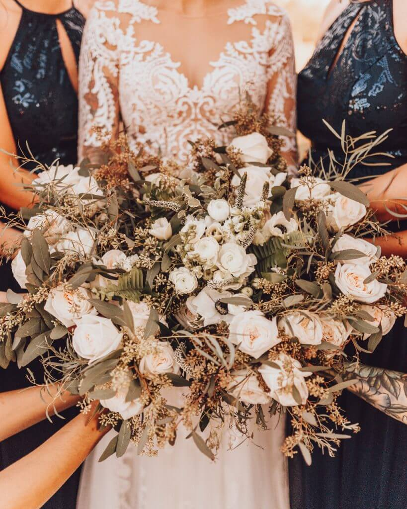 Gruene Texas Wedding Floral Arrangement