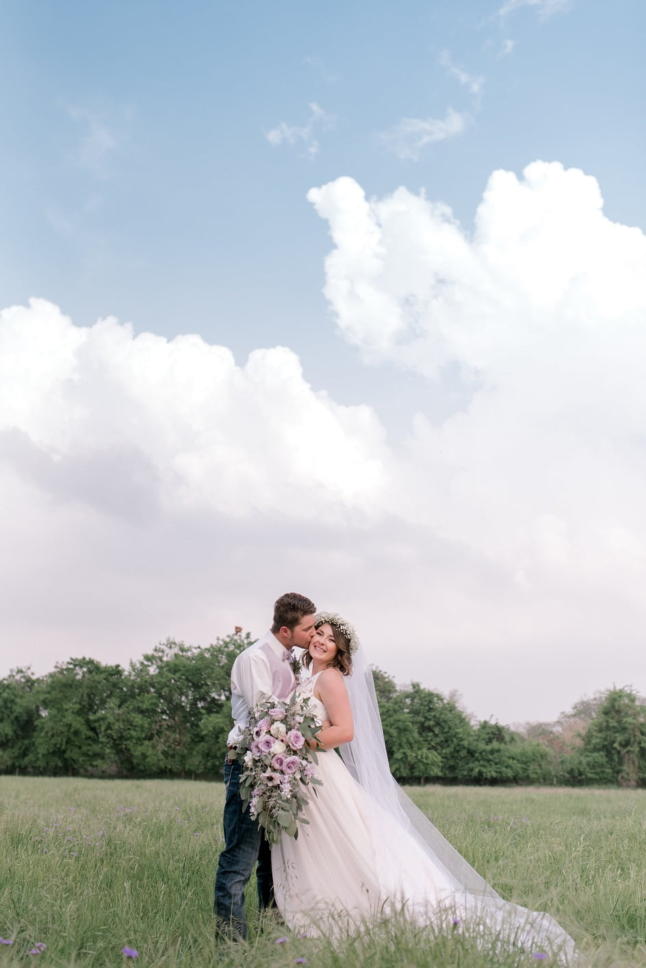 Gruene Texas Wedding Party